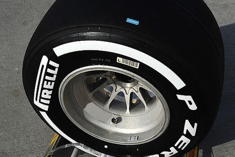 Pirelli prueba stickers termómetro en Barhain