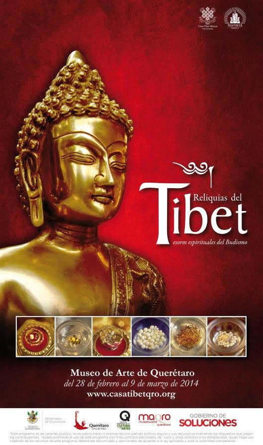 Reliquias del Tibet: Tesoros espirituales del Budismo – Museo de Arte de Querétaro