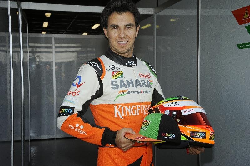 "Jalisco con Sergio ""Checo"" Pérez en la F1"