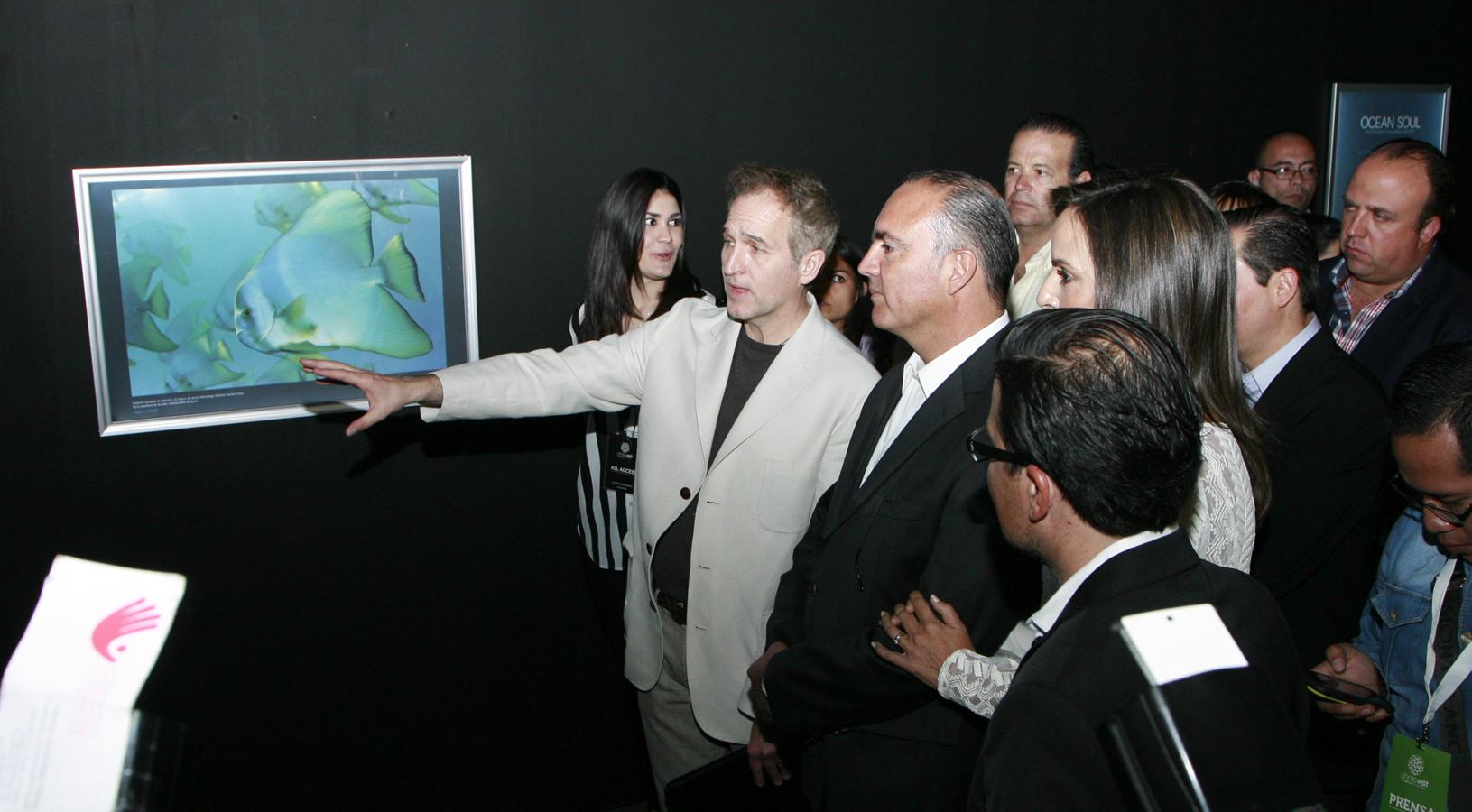 Inaugura el Gobernador del Estado, la tercera edición del Festival Internacional de Fotoperiodismo Photofest Querétaro 2014