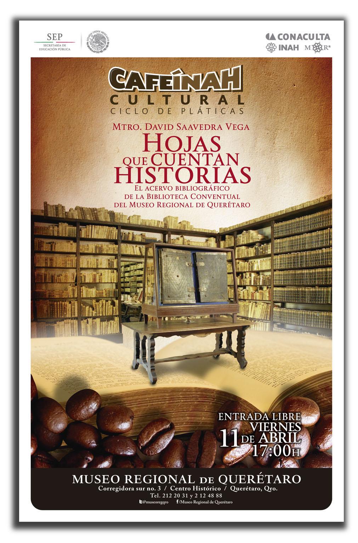 Cafe INAH Cultural: Hojas que cuentan Historias