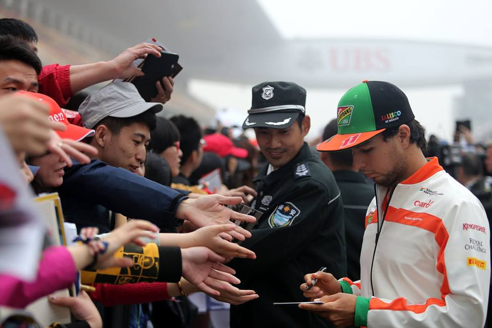 Checo Pérez – Previo GP China