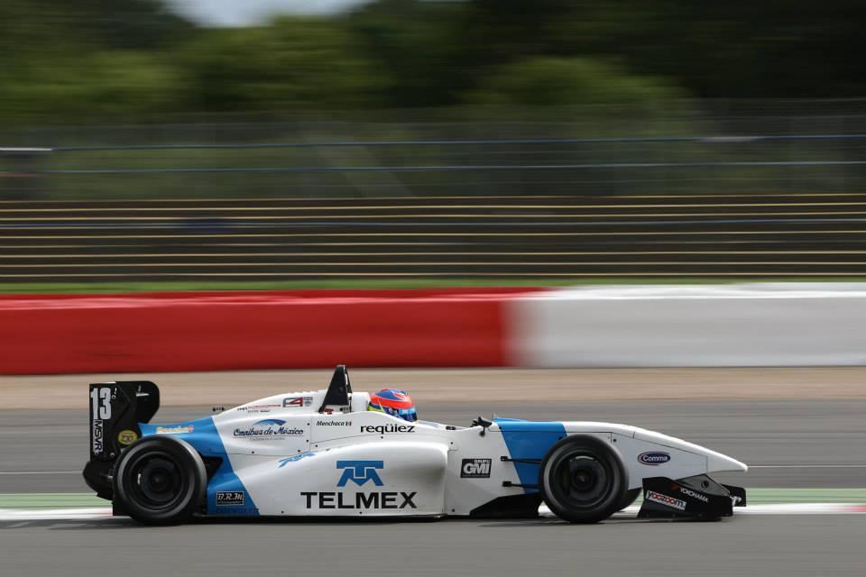 Diego Menchaca inicia actividades previo al inicio de la temporada 2014 de la F4 Británica