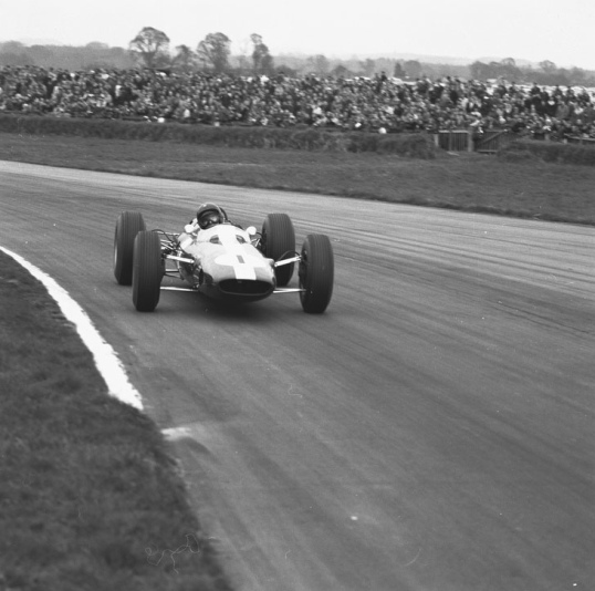 Goodwood Easter Monday: Jim Clark, P1