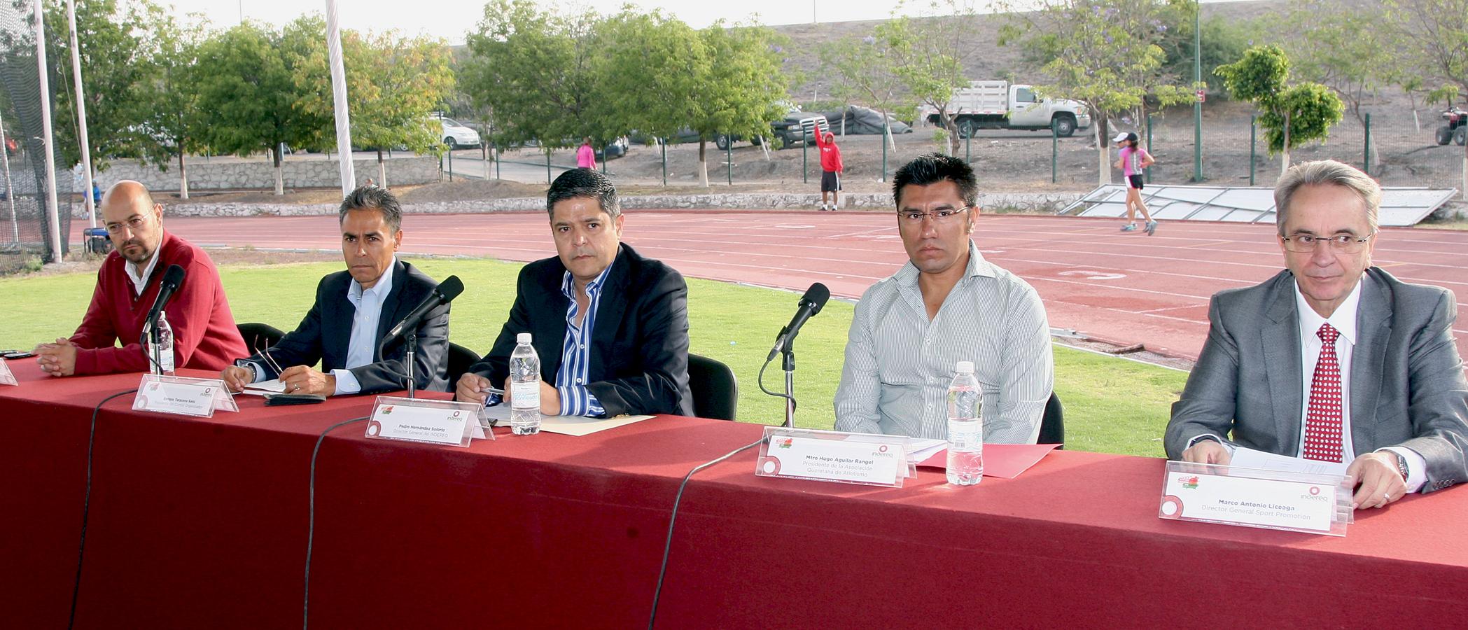 Presentan Querétaro Maratón 2014