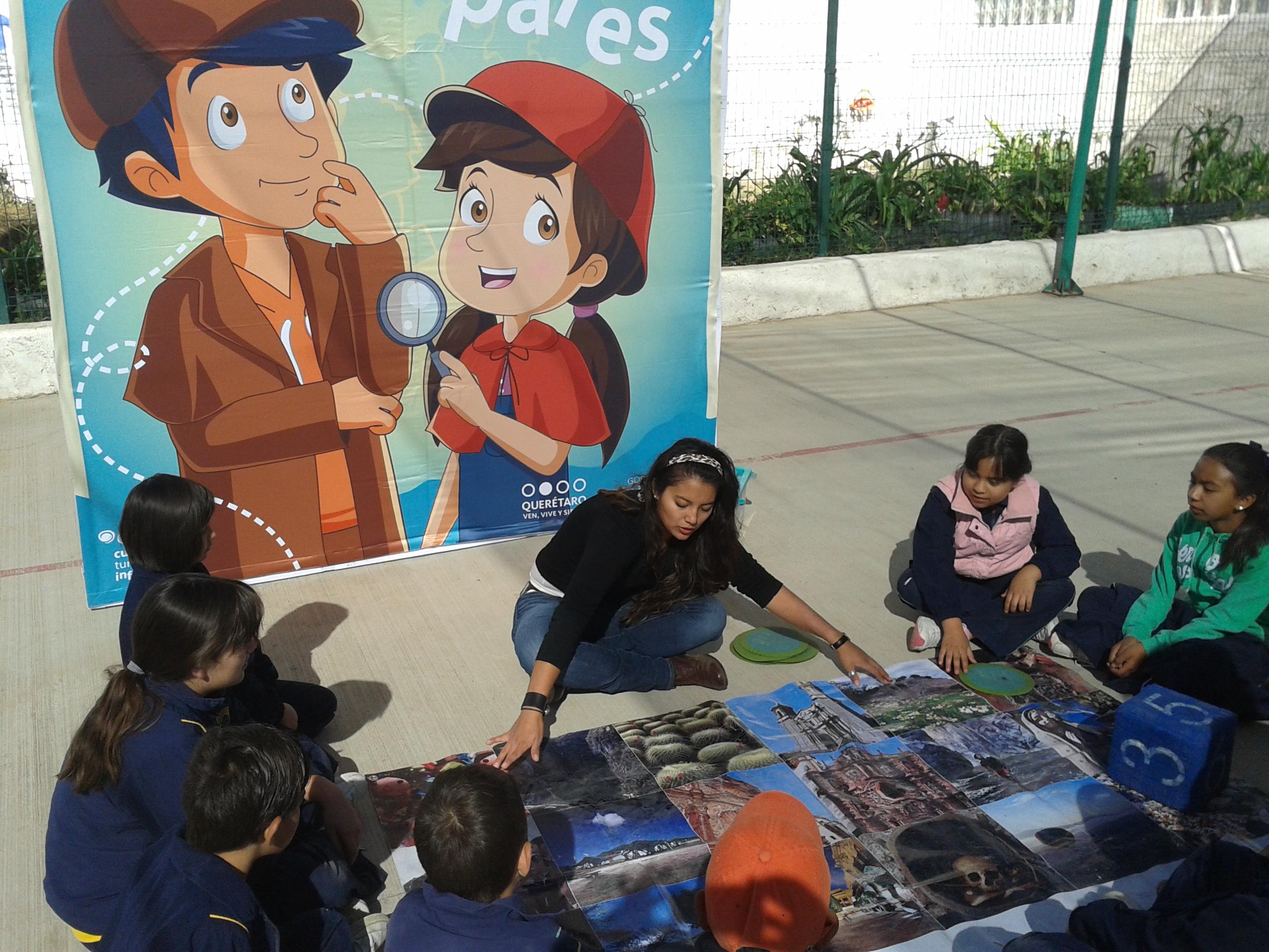 Fomenta Secretaría de Turismo cultura turística entre niños queretanos