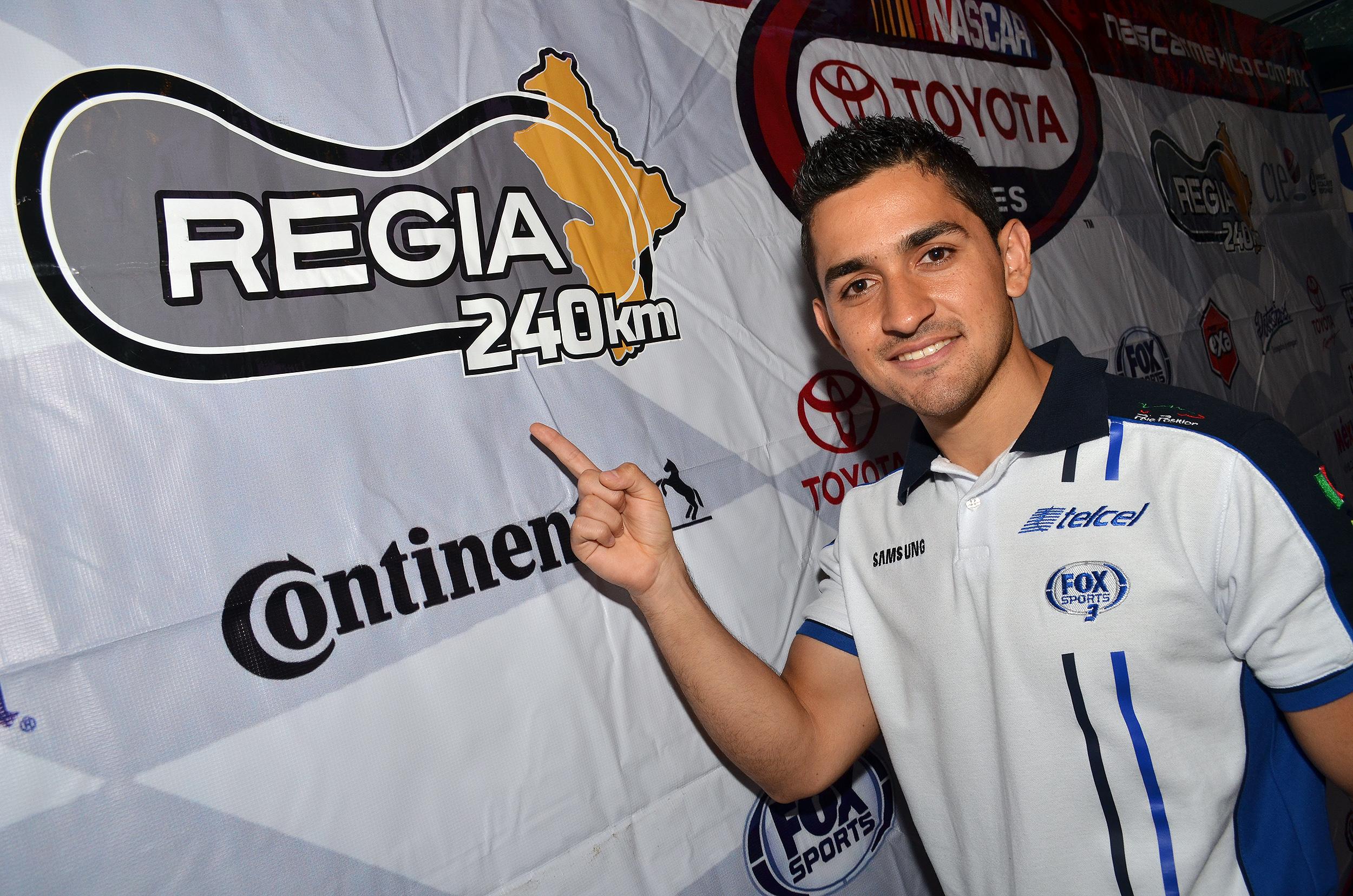 Abraham Calderón, nuevo centenario de Nascar Toyota Series