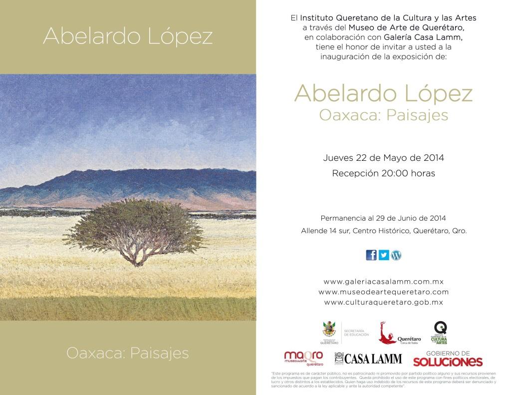 Invitación Abelardo López