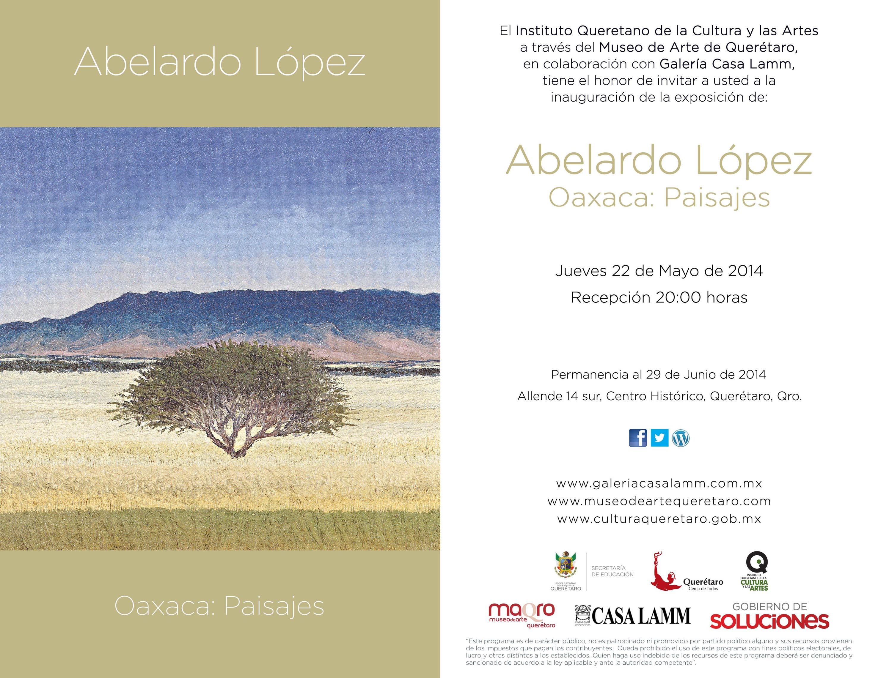 Oaxaca: Paisajes – Exposición de Abelardo López