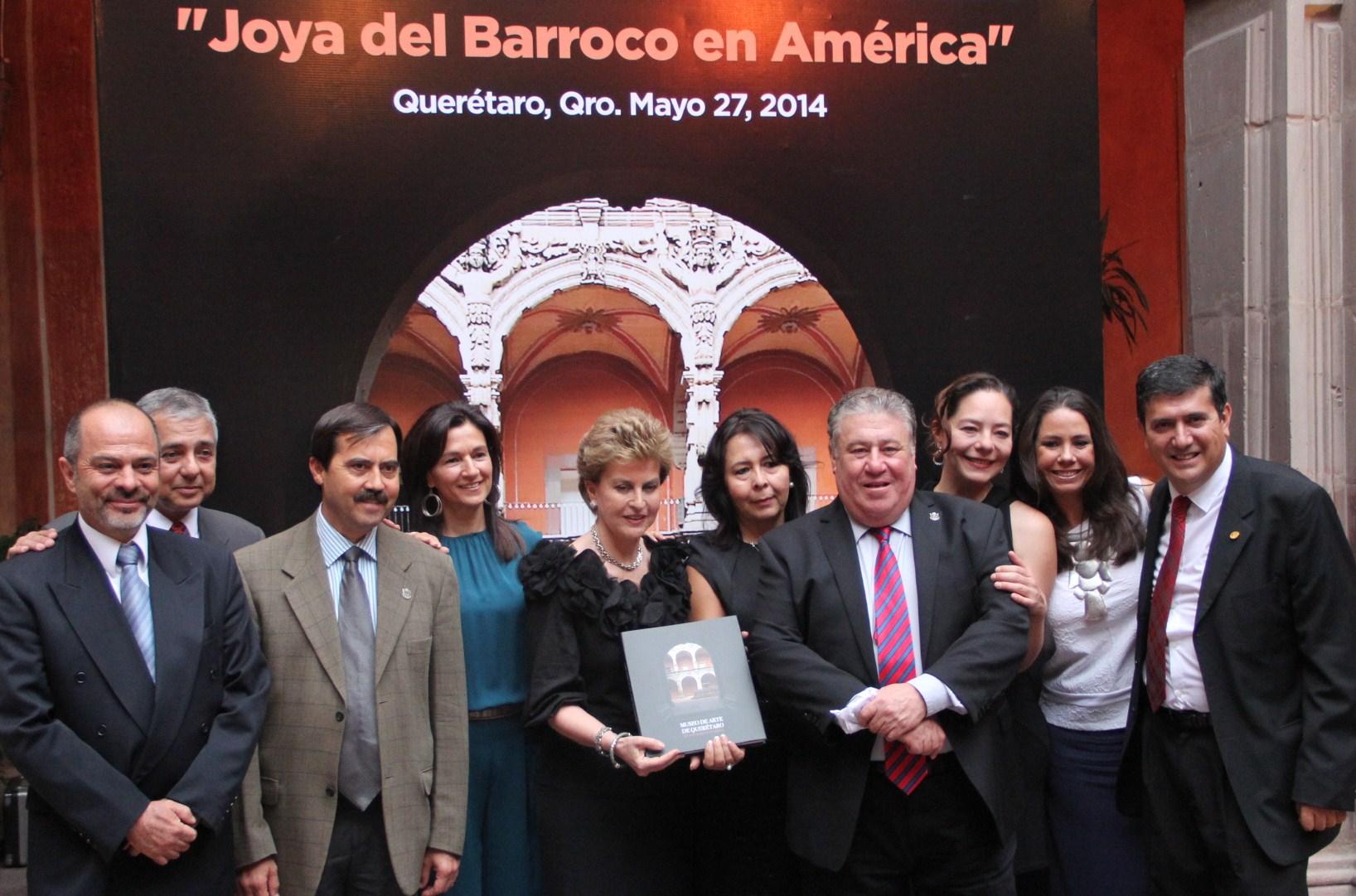 Se lleva a cabo la presentación del libro Museo de Arte de Querétaro, Joya del Barroco en América
