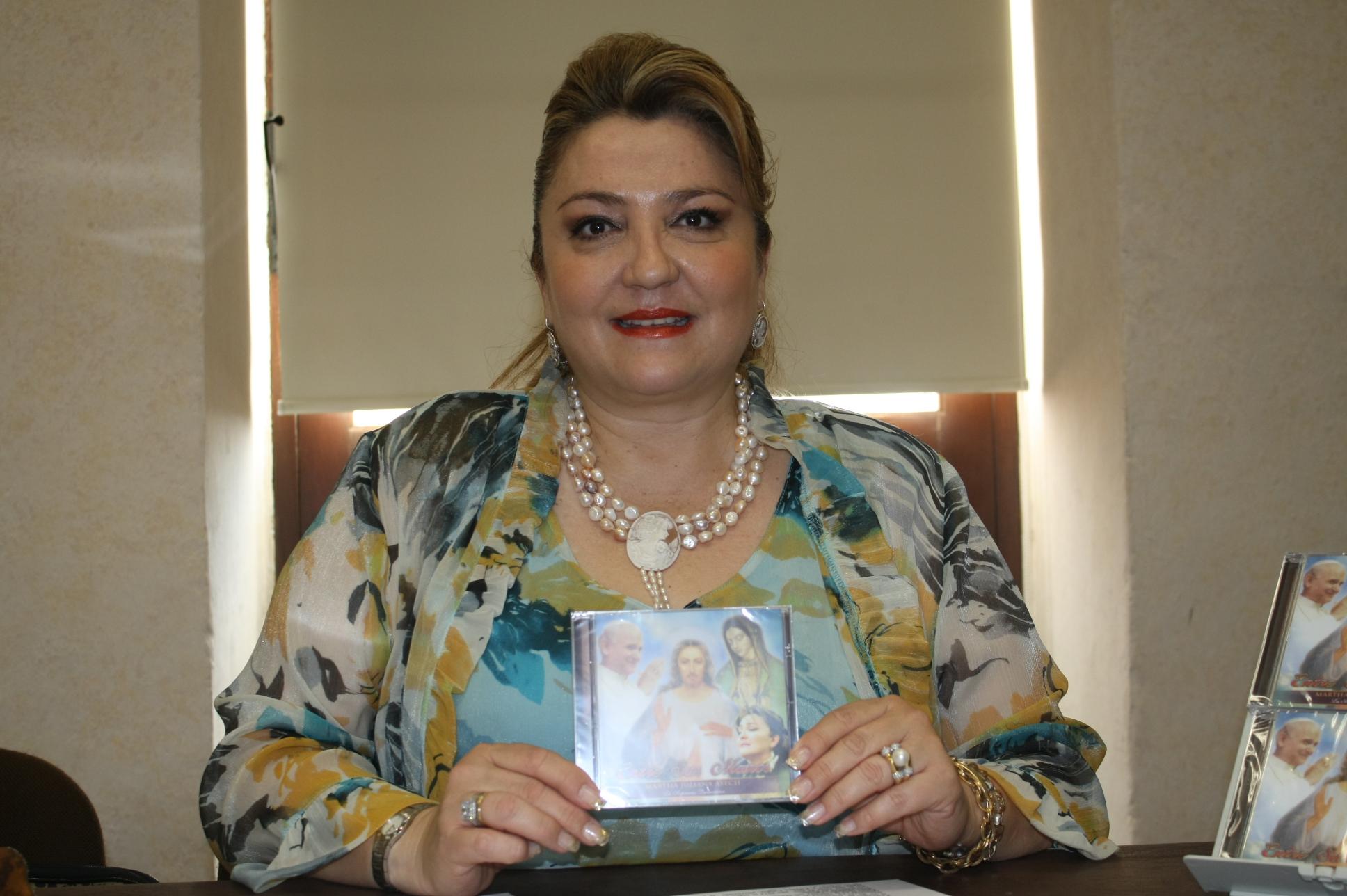 Presentará la soprano Martha Juliana Ayech nuevo disco