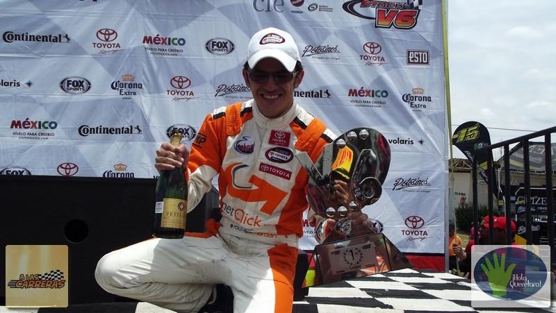 ¡Extra extra!, Rodrigo Marbán ganó en la Serie Stock V6