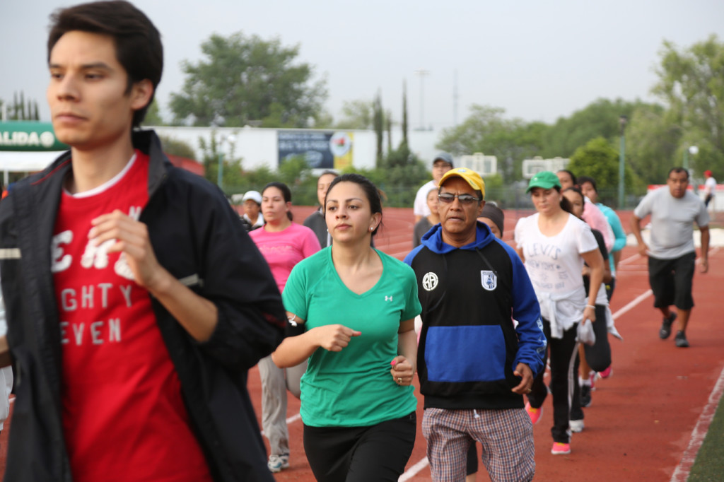 Queretaro Maraton 2014 Entrenamientos