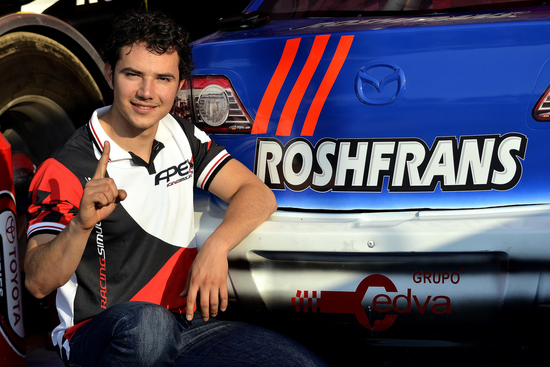 Ramiro Fidalgo Jr. nuevo líder de la Serie Stock V6