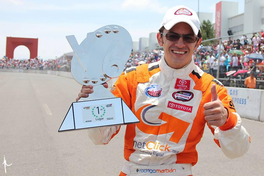 Marbán se lleva la de cuadros en la Stock V6 en Querétaro