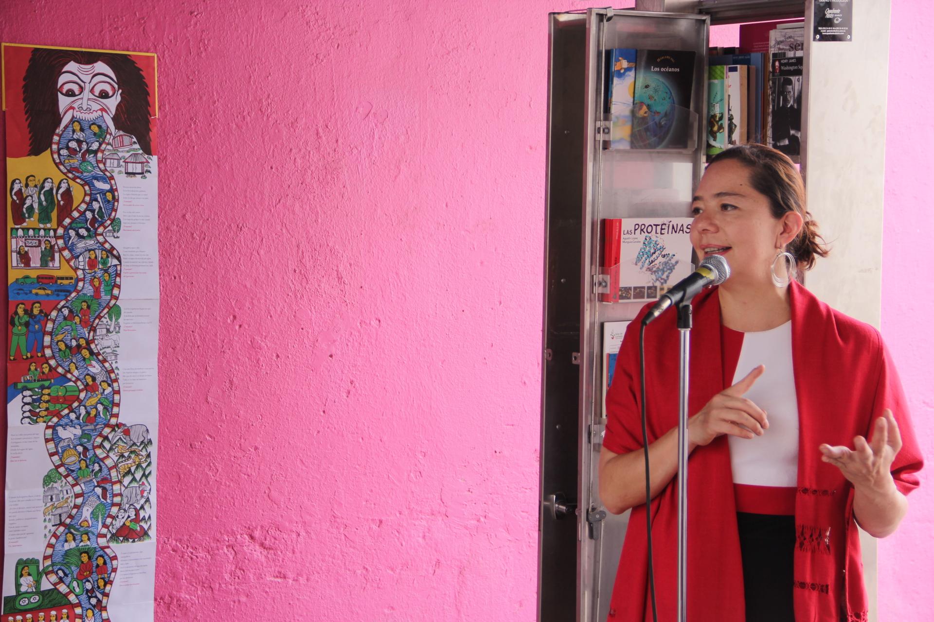 Aperturan IQCA e Instituto Municipal de Cultura el Paralibro del Centro Cultural La Vía