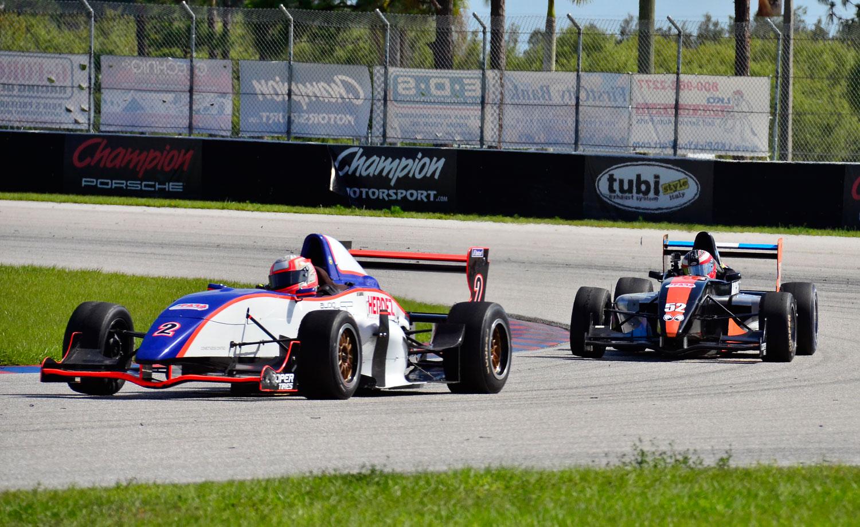 Todo listo en el Homestead Miami Speedway para la 3ª fecha doble de LATAM F2000