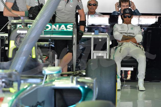 Formula One World Championship, Rd10, German Grand Prix, Qualifying, Hockenheim, Germany, Saturday 19 July 2014.