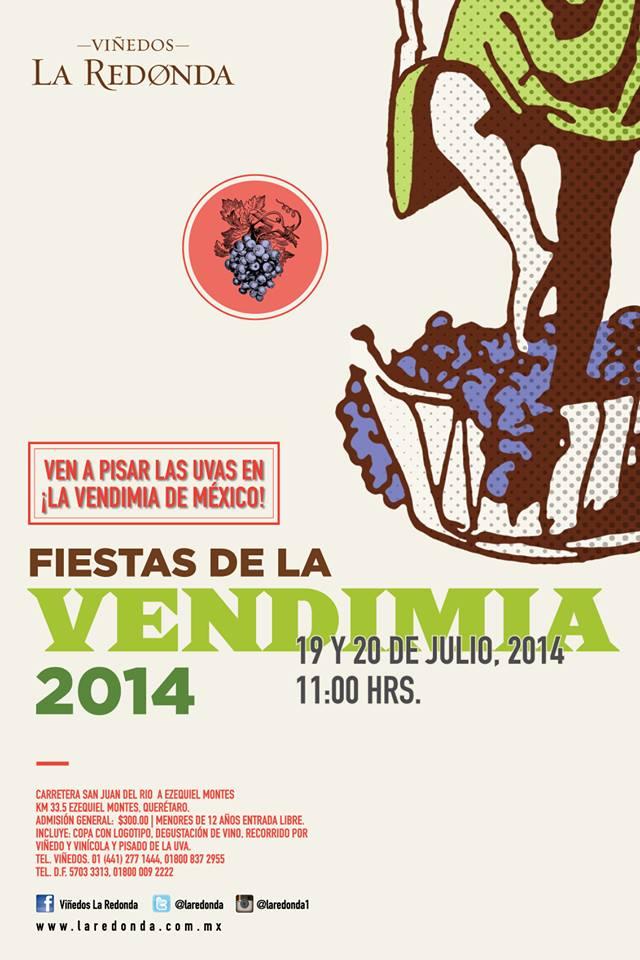 Fiestas de la Vendimia en Viñedos La Redonda 2014
