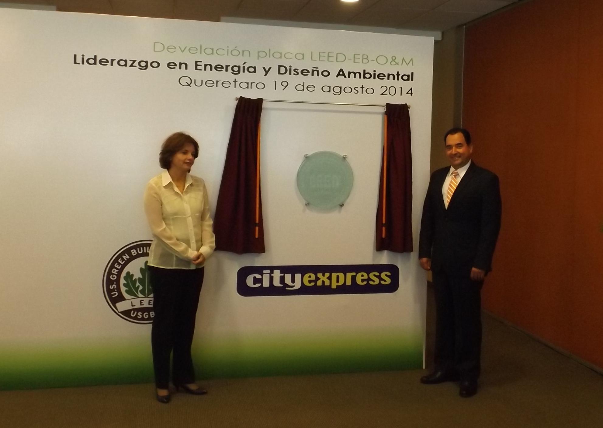 City Express Querétaro se certifica como un hotel sustentable