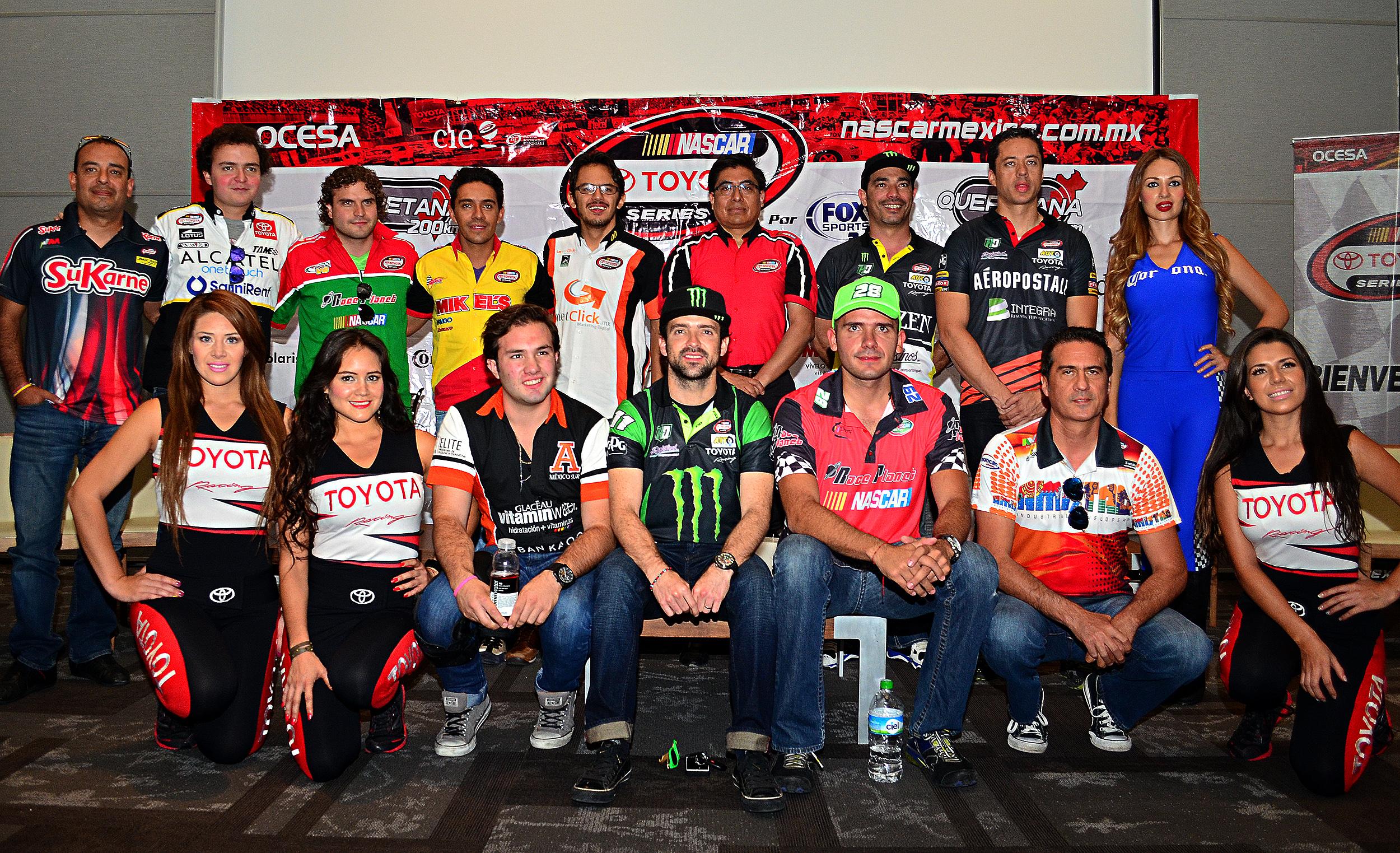 Comienzan las acciones de NASCAR México en Querétaro