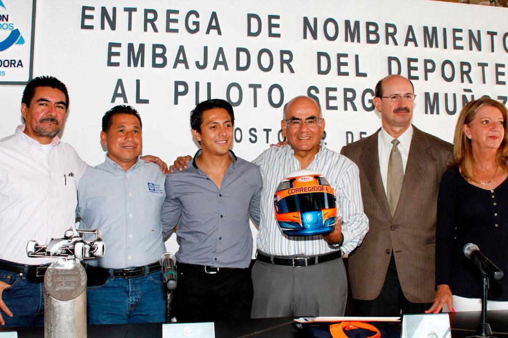 Sergio Muñoz Embajador Deporte Corregidora