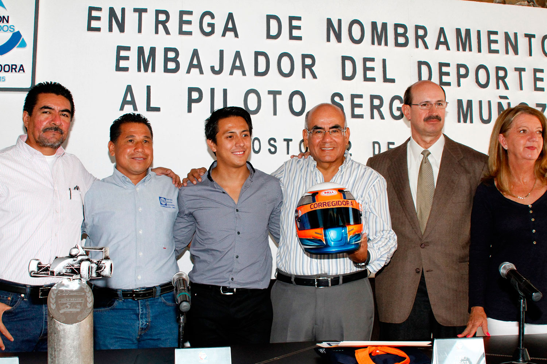 Nombran a Sergio Muñoz, embajador del deporte de Corregidora, Querétaro