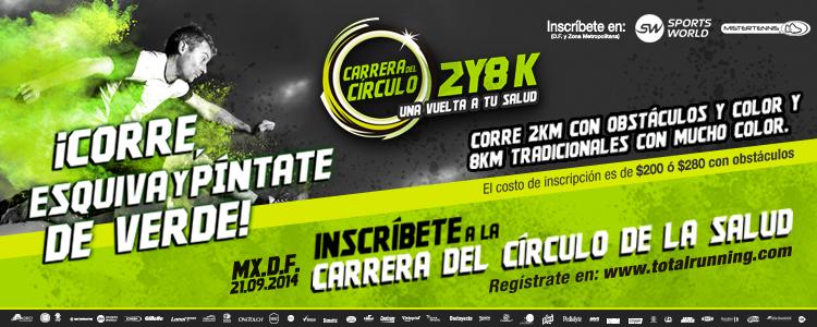 Carrera del Círculo de la Salud 2 y 8 KM