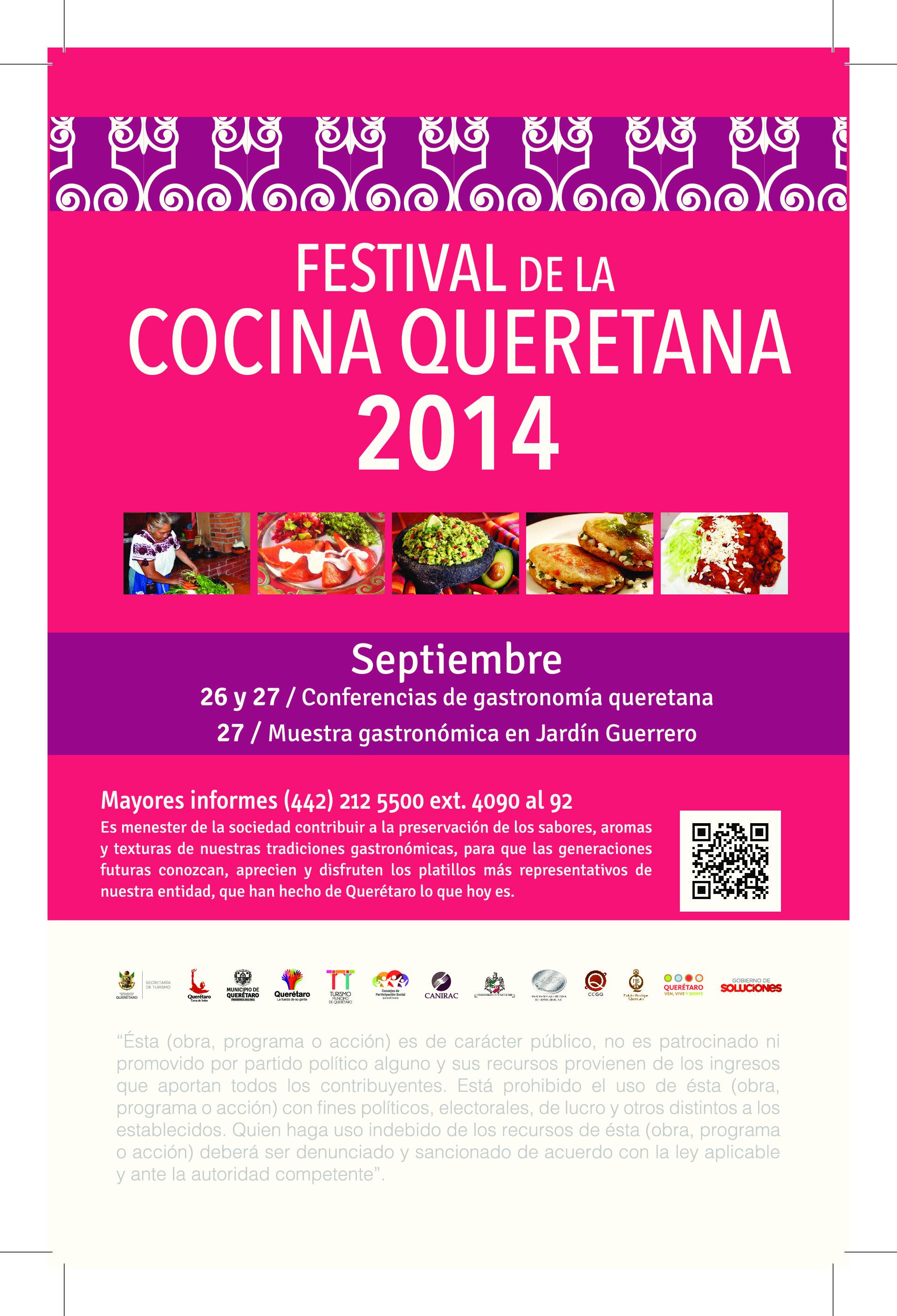 Festival de la Cocina Queretana 2014
