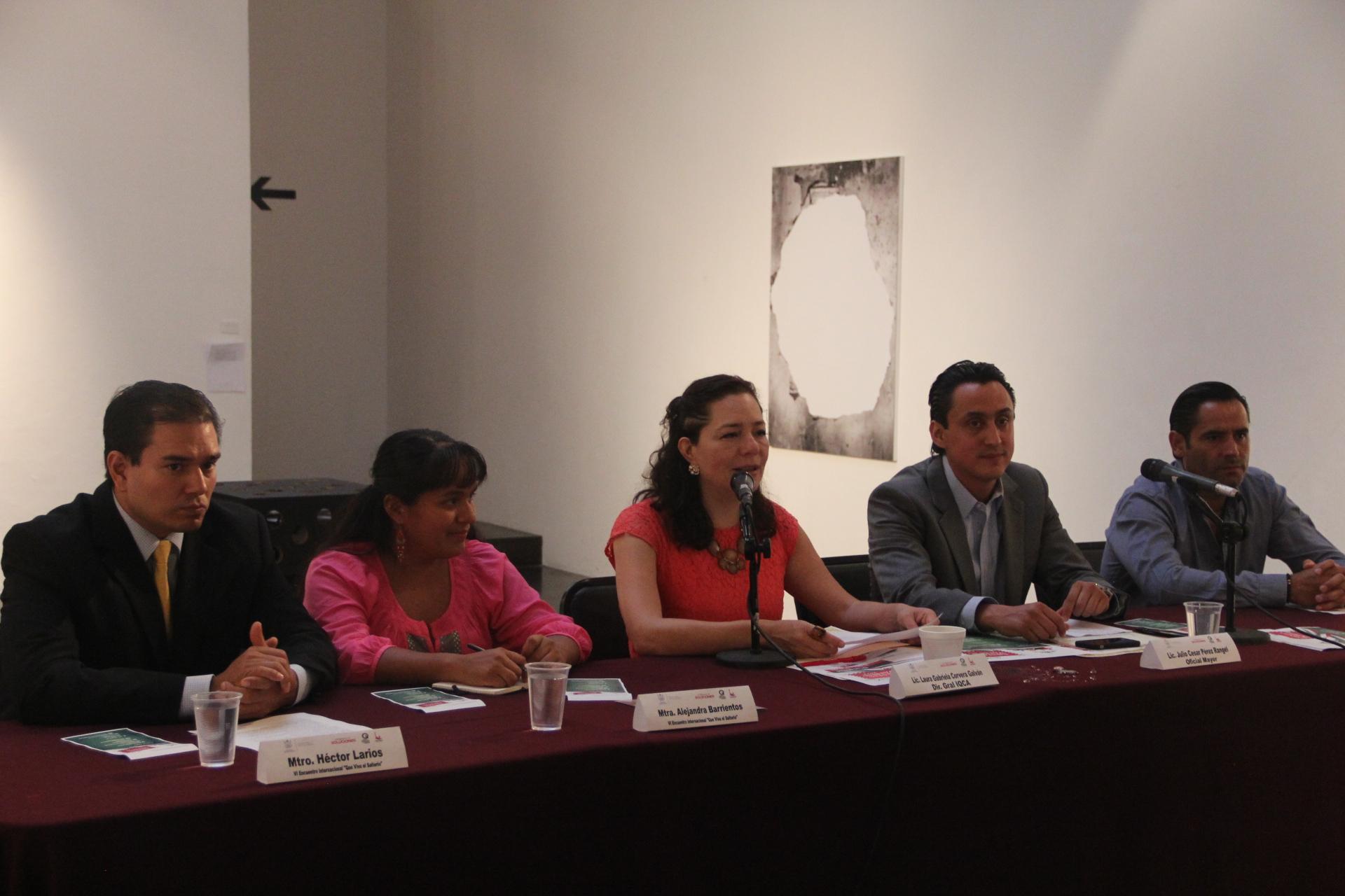 Presentan IQCA y Oficialía Mayor eventos con motivo de las Fiestas Patrias 2014