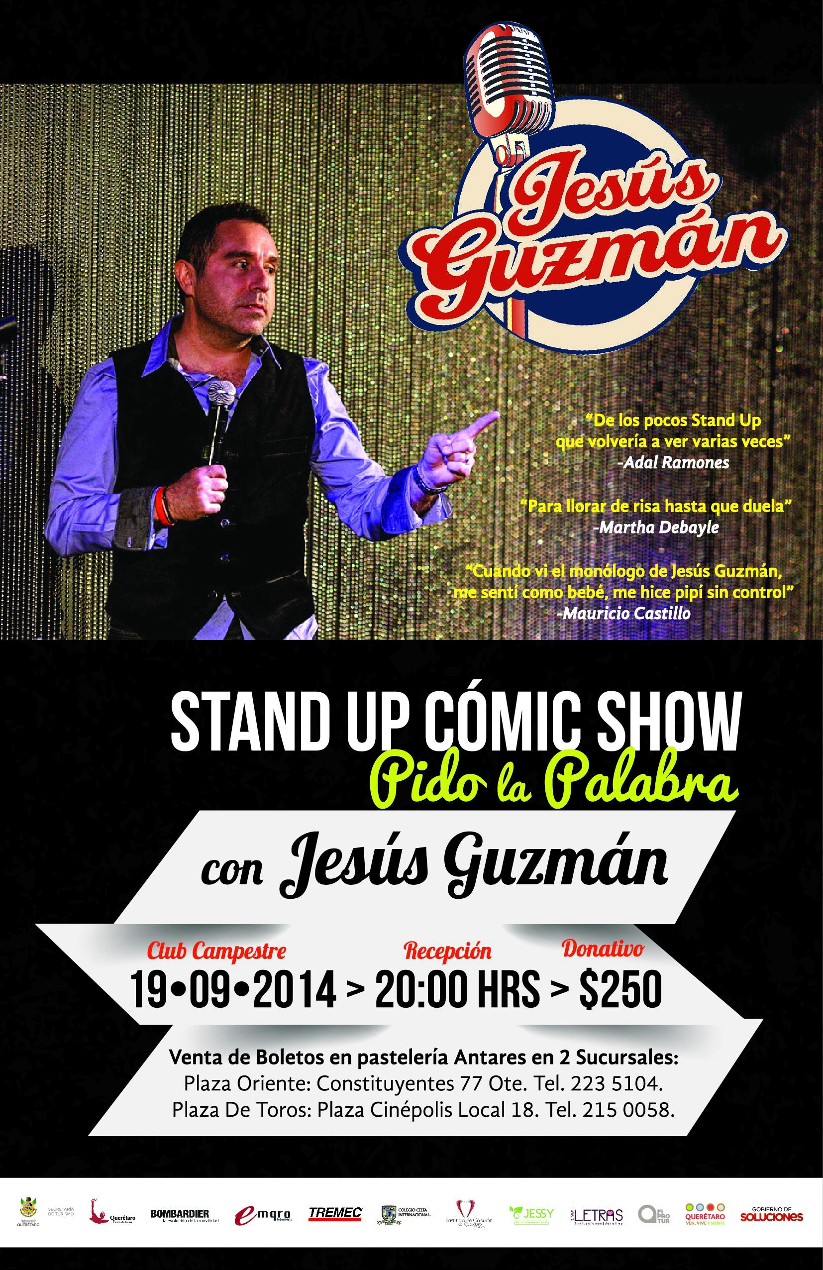 Stand Up Comic Show a beneficio de Hogares Providencia Querétaro