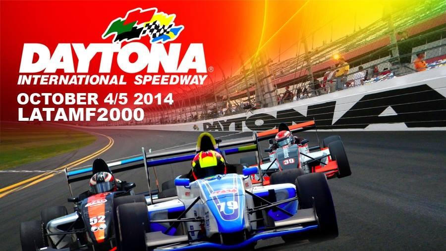 Todo listo en Daytona para la séptima fecha de LATAM F2000