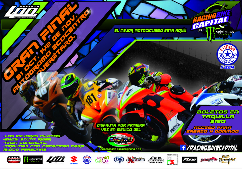Final del Racing Bike Capital en Querétaro