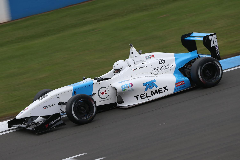 Rodrigo Fonseca, listo para el final de temporada en Snetterton 300