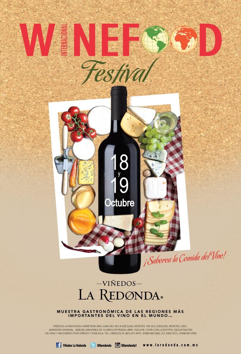 Internacional WineFood Festival 2014 en Viñedos La Redonda