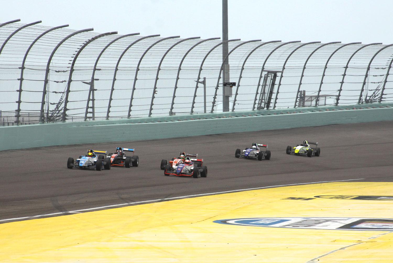 """LATAM F2000 ya está en el """"Homestead Miami Speedway"""""""