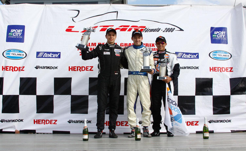 "Sebastián Arriola vence en el ""Palm Beach Grand Prix"" de LATAM F2000"