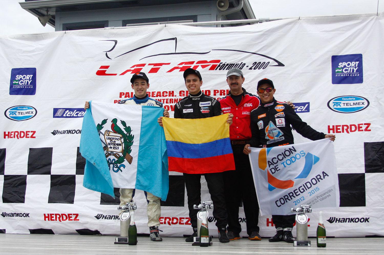 """Santiago Lozano se lleva la segunda del """"Palm Beach Grand Prix"""""""