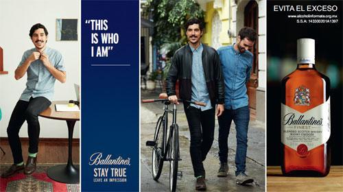 Ballantine's presenta STAY TRUE,  una declaración de autenticidad para compartir con el mundo
