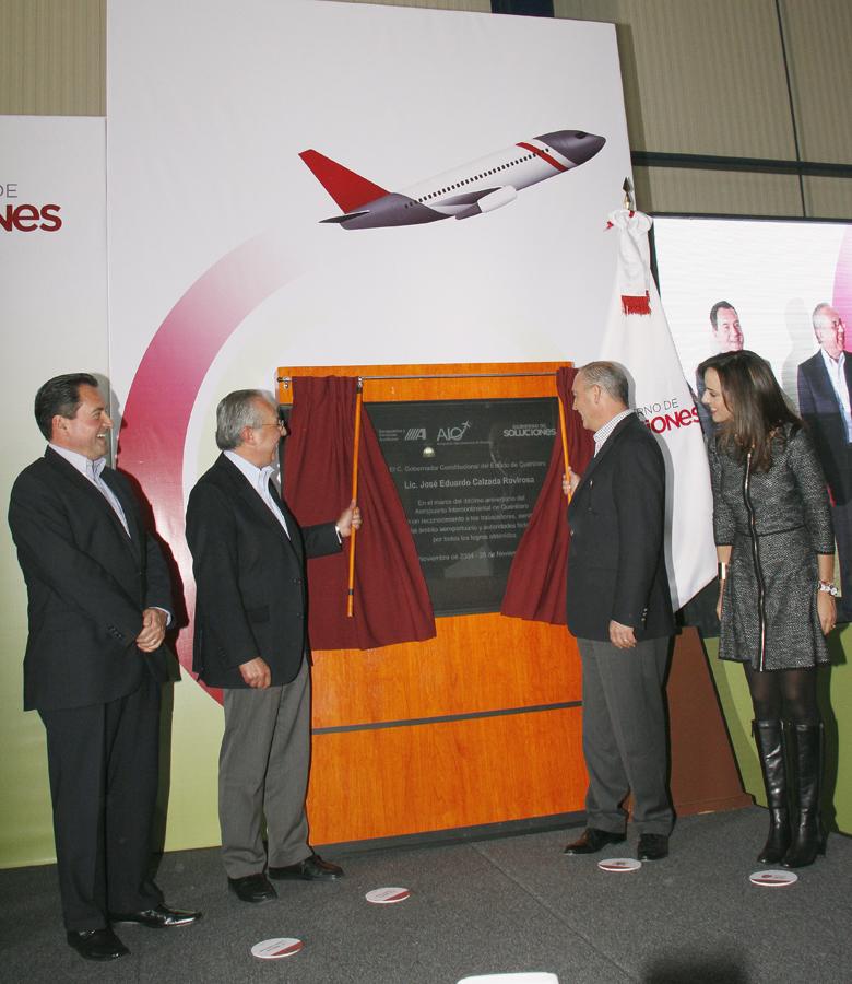 10º Aniversario del Aeropuerto Intercontinental de Querétaro