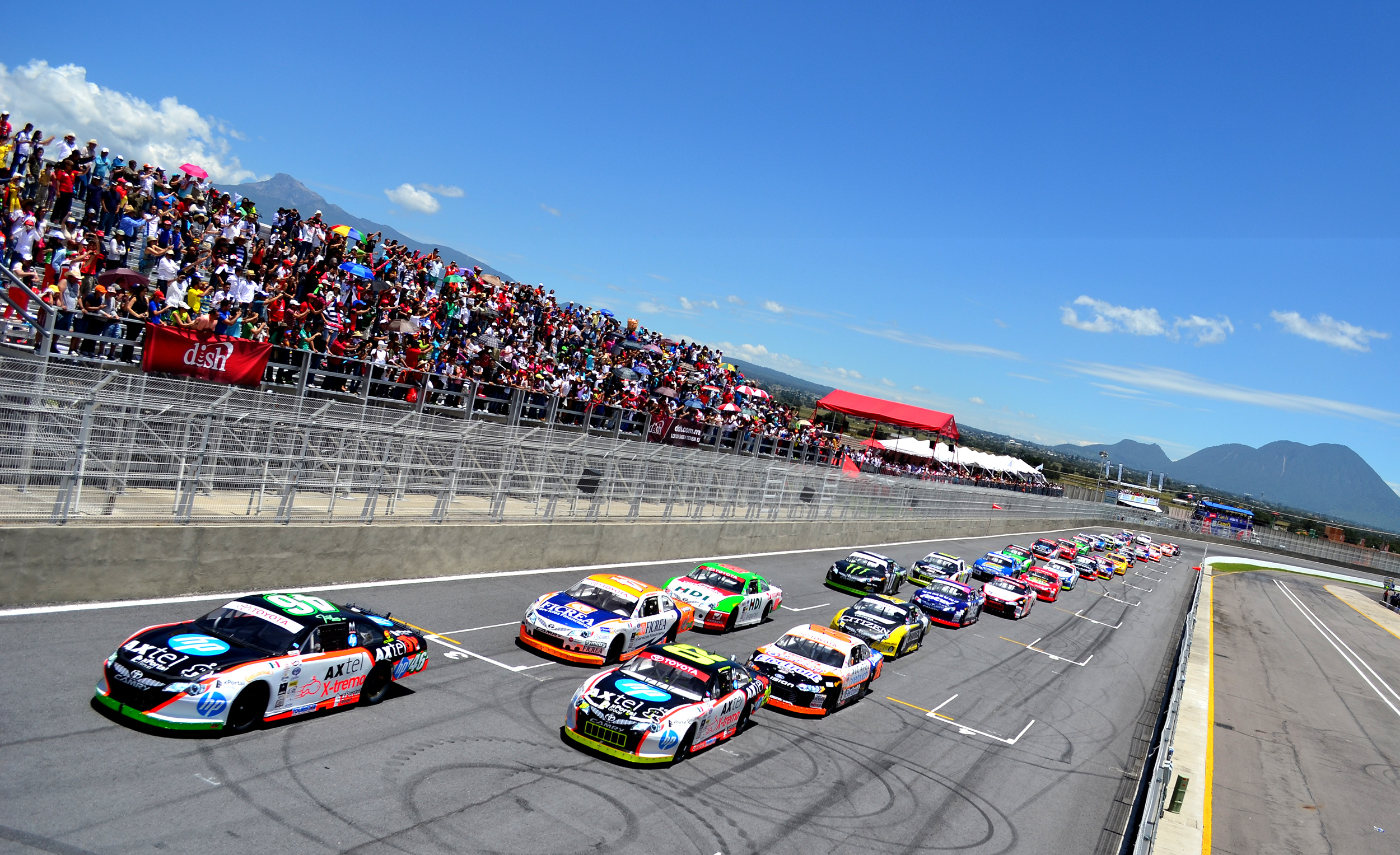 NASCAR México – Más de 220 mil personas acudieron a los Autódromos