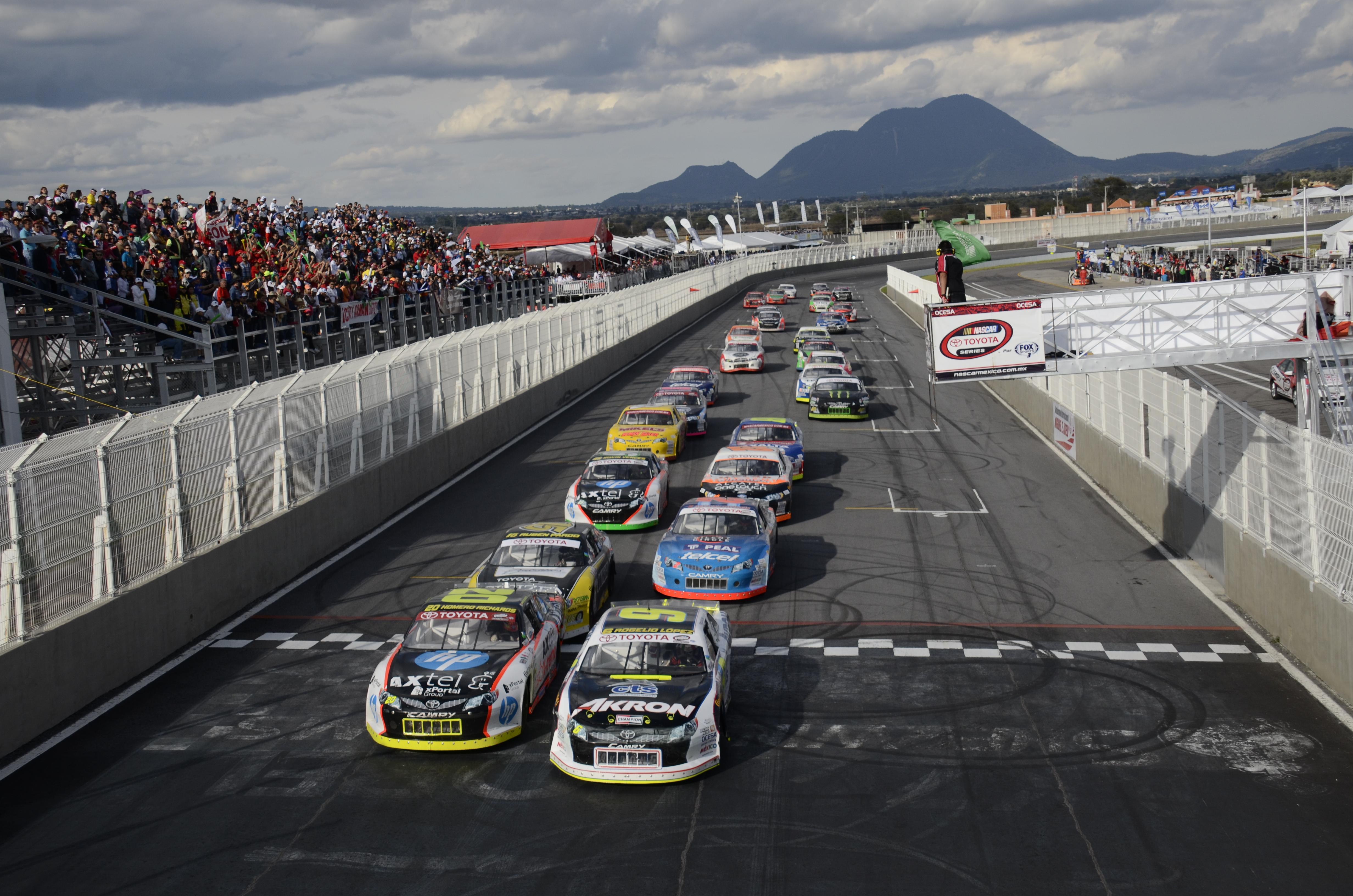 NASCAR México ha recibido a 4902 autos en 11 años