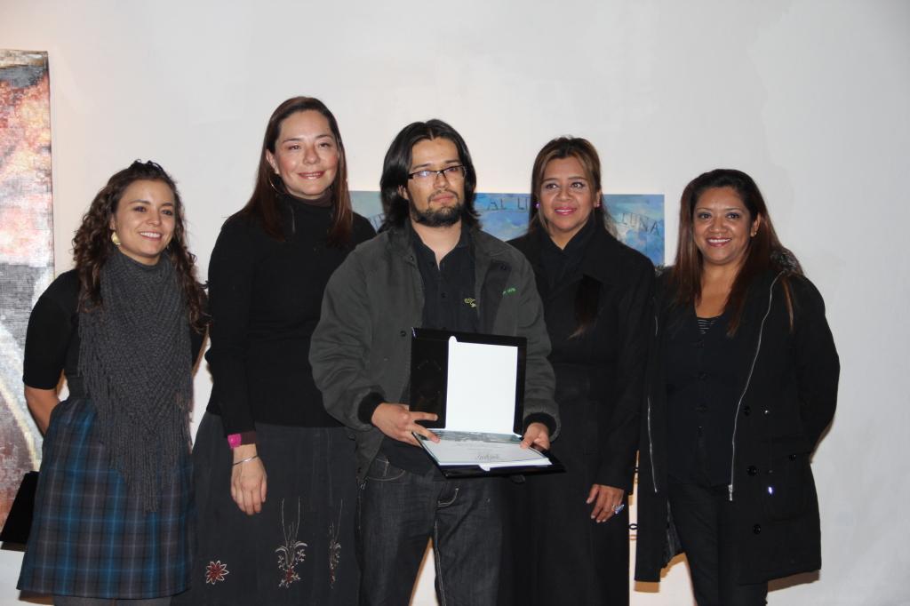 Joaquin Flores Rodríguez - Premio Nacional de Pintura Julio Castillo 2014