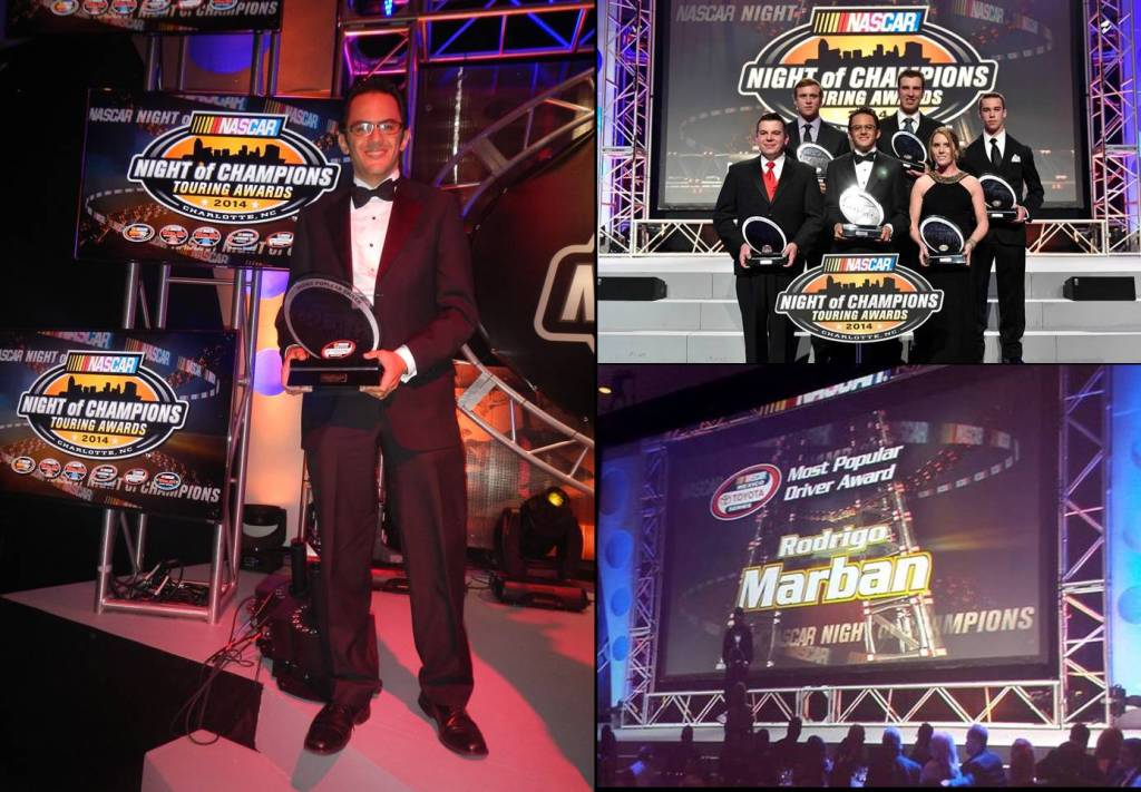 Rodrigo Marban NIGHT OF CHAMPIONS Piloto mas popular de Nascar Mexico