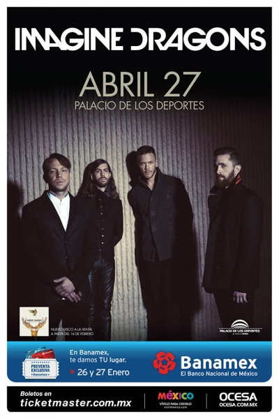 Imagine Dragons regresan a México