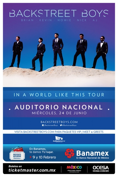 Backstreet Boys en vivo en México