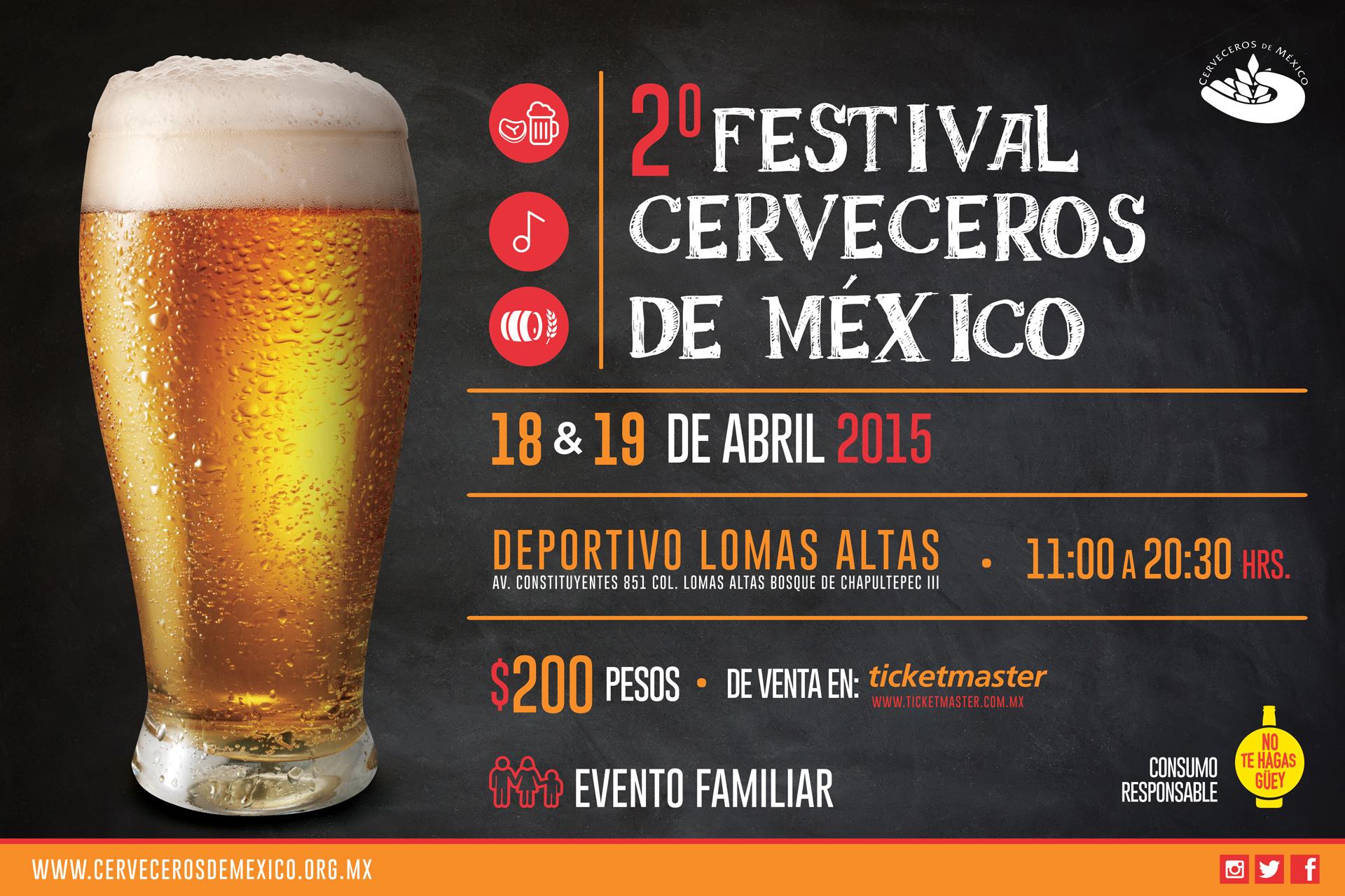 ¡Listos los detalles para el 2do Festival Cerveceros de México!