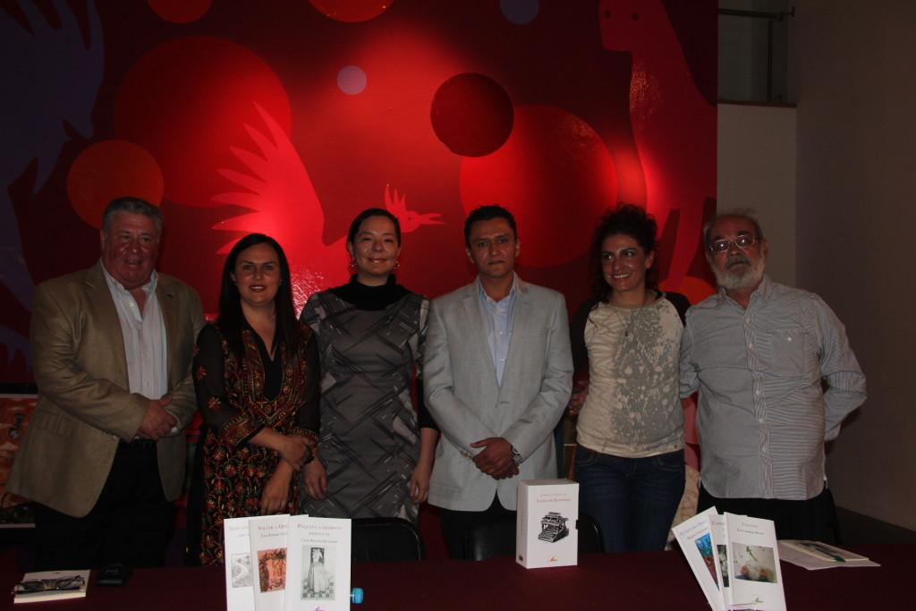 Presentan cinco nuevos libros de la Colección Literatura Portátil