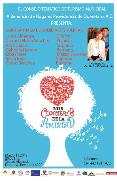 Concierto de la Amistad 2015