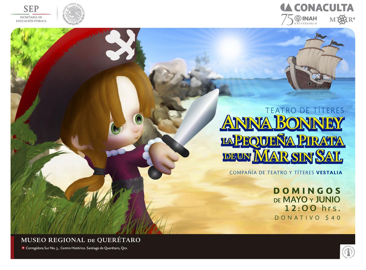 La pequeña Pirata de un Mar sin sal – Teatro de títeres
